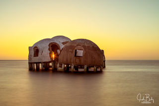Cape Romano, Ten Thousand Islands, Dome Houses, abandoned.