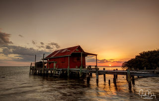 Florida, pine island sound, fish houses