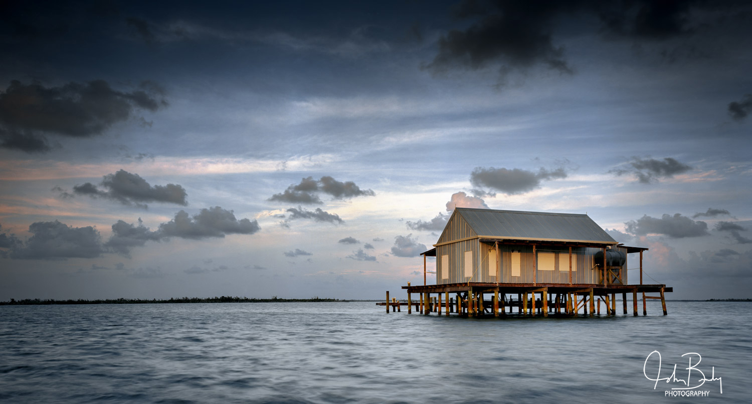 Florida, pine island sound, fish houses, photo